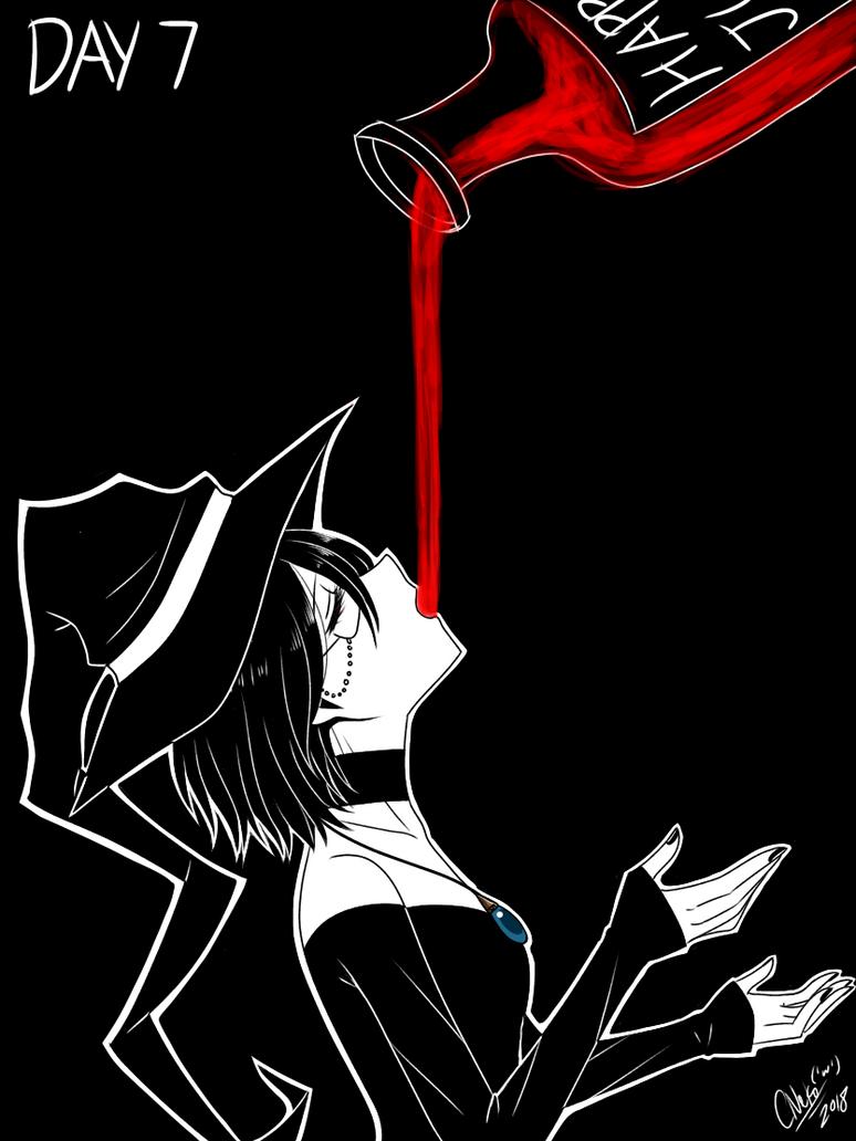 Inktober Day 7: Potion by CNeko-chan