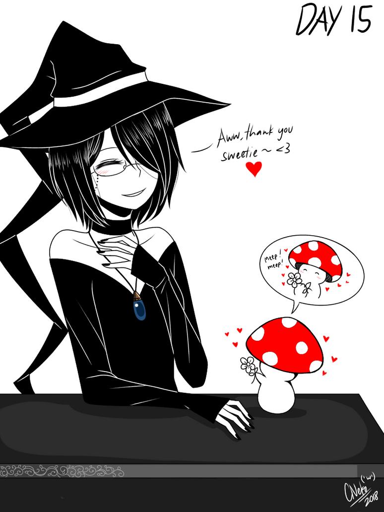 Inktober Day 15: Mushroom by CNeko-chan