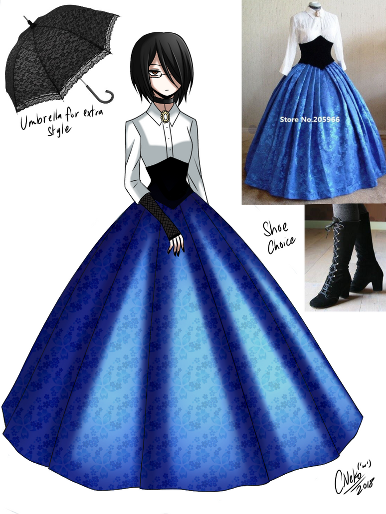 more Victorian clothing by CNeko-chan