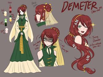 Demeter Character Sheet [MAKARIA Extras] by CNeko-chan