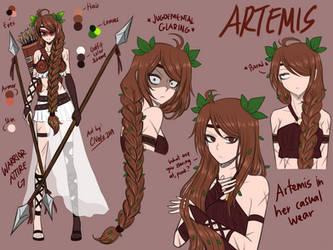 Warrior Goddess Artemis [MAKARIA Extras] by CNeko-chan