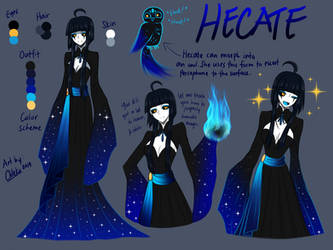 Hecate Goddess of Magic [MAKARIA Extras] by CNeko-chan
