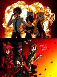 the demon caretakers squad [multiverse crossover] by CNeko-chan