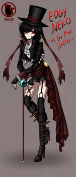 Mad Hatter Design [Edgy Neko/Into the Multiverse]