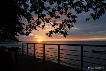 Sunset in Anilao