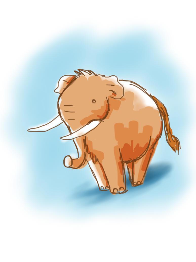 Prehistoric Mammal challenge by meihua
