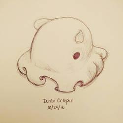 Inktober day 29 - Dumbo Octopus