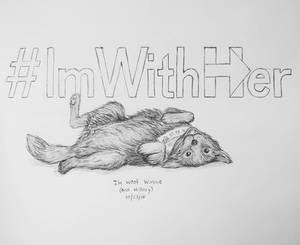 Inktober day 23 - #ImWoofHer
