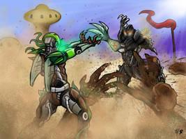 Desert Brawl! by Soulemn