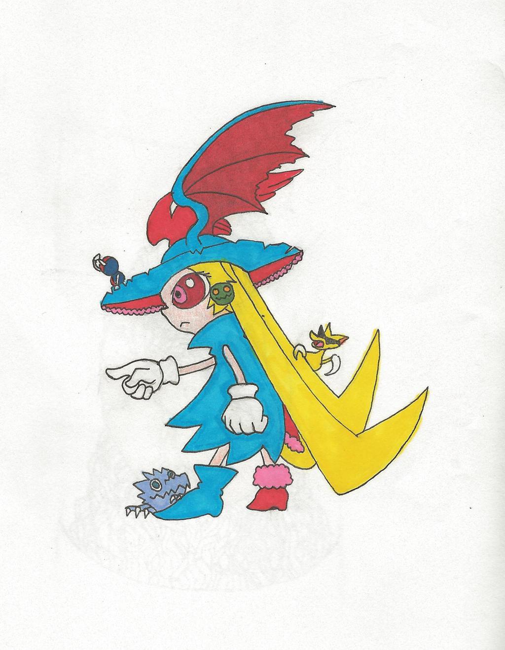 Shyna color sketch by NightBlueSky