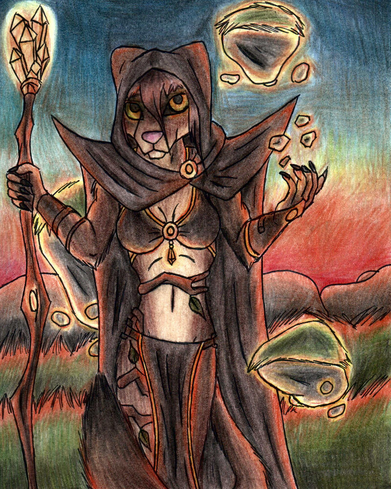 Earth Mage by Specter1099