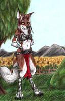 Wolf/Fox Hybrid by Specter1099