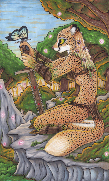 Cheetah Warrior by Specter1099 on DeviantArt
