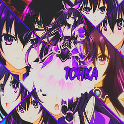 Collage de Tohka Yatogami by BlackShadowEditions