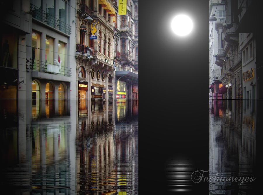 Moonlit Boulevard by fashioneyes