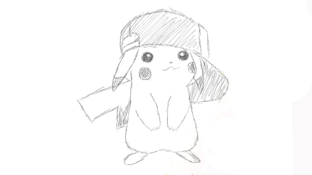Pikachu Sketch By Yuma76 On Deviantart