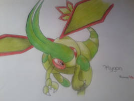 Flygon Finished Version by Yuma76