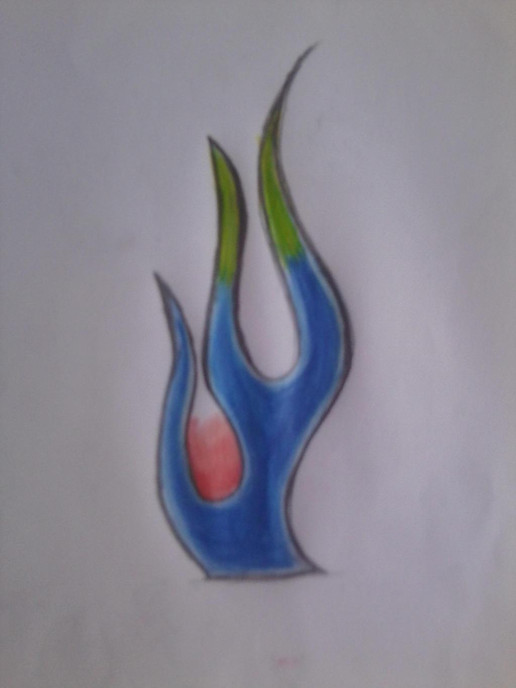 chester benningtons flame tatoo drawing by yuma76 on deviantart. Black Bedroom Furniture Sets. Home Design Ideas