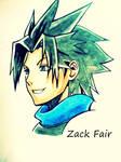 Zack Fair (Kingdom Hearts Birth by Sleep)
