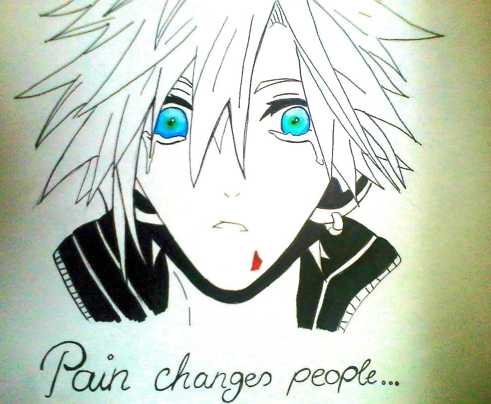 Pain changes people... by Yuma76