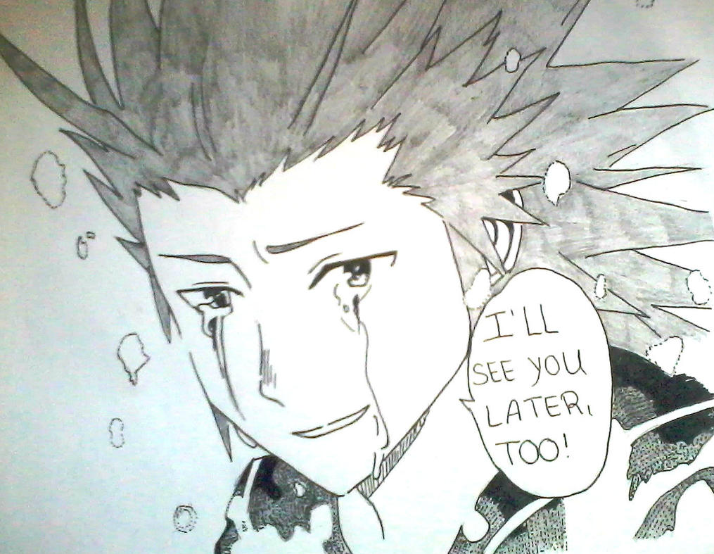 I will see you later too Roxas by Yuma76
