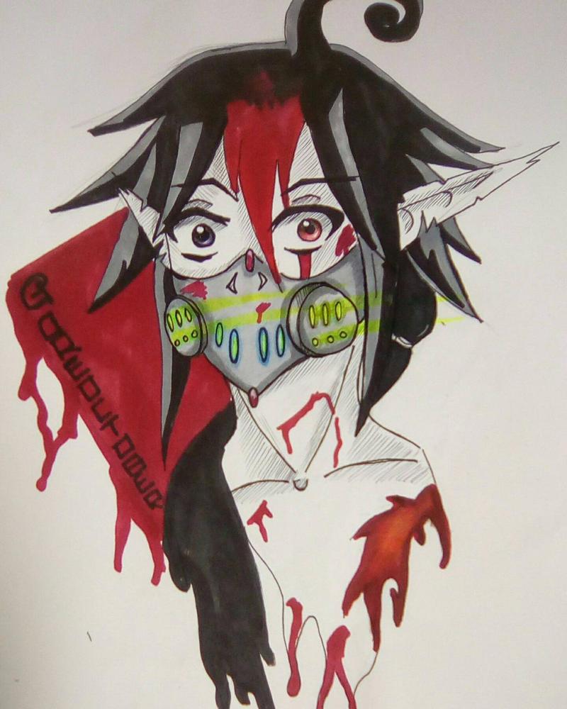 Goretober : Atom Mask by Yuma76