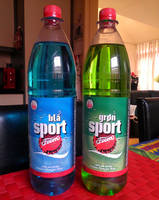 Blue Sport and Green Sport Sodas by Redfield-1982