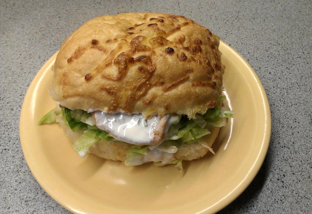 Chicken-Bacon Sandwich by Redfield-1982