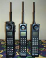 Digital GSM Brick Cell Phones by Redfield-1982