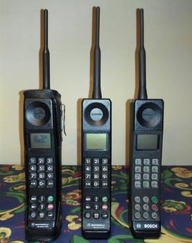 Digital GSM Brick Cell Phones