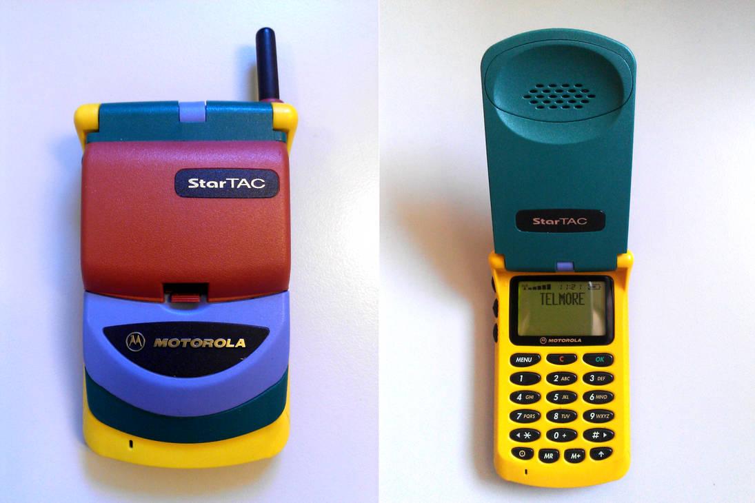 Motorola Rainbow StarTAC by Redfield-1982