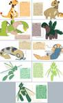 ampharos, tropius, dunsparce, scyther subspecies