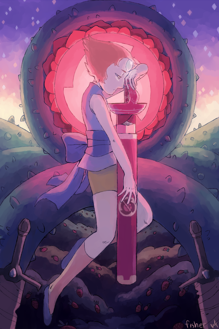 pearl!!!!!!!!!!buy this as a print/on merch! | commission me!