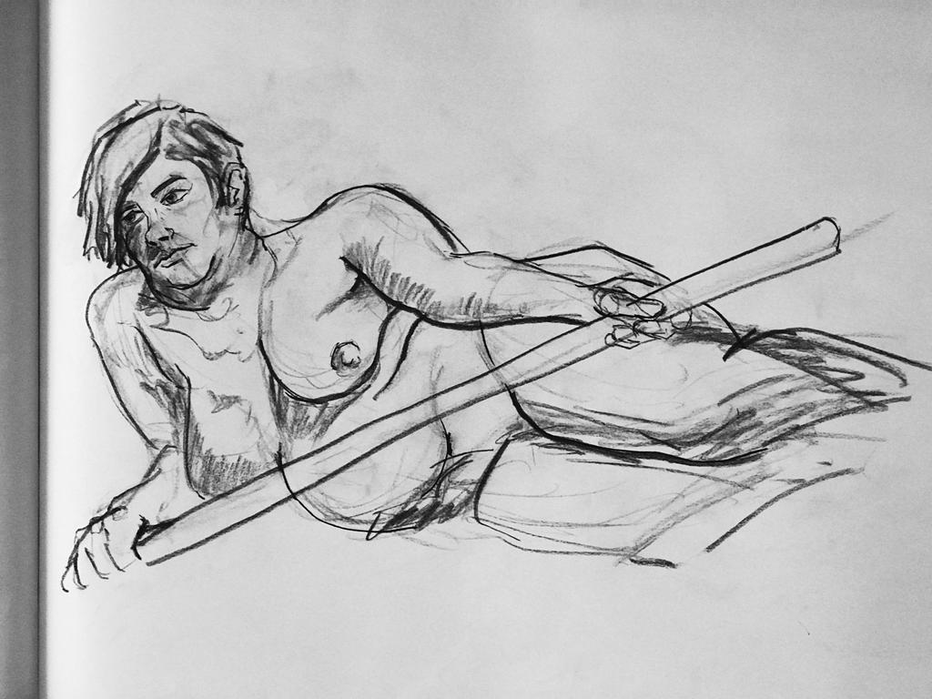 Figure Drawing at the Neologian - Feb 20th by theturbosaur