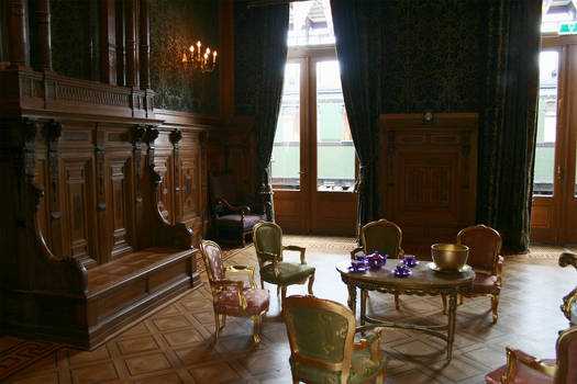 Royal waiting room