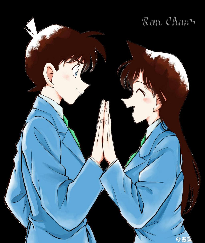 Ran-Mouri-and-Shinchi-Kudo-Render By Ran-Chan1 On DeviantArt