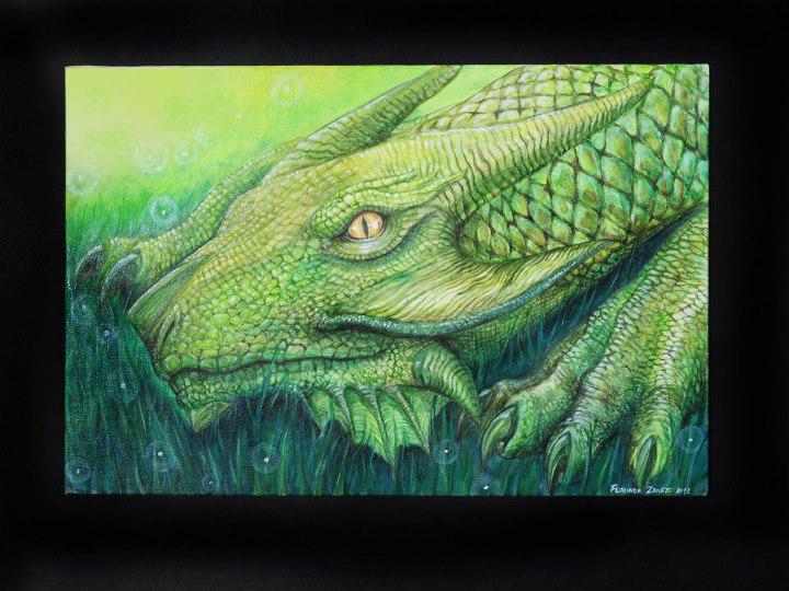 Dragon. Lourian Canuto by FlorindaZanetti