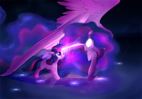 In A Dream I Saw Her by Aidapone