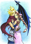 KH Cloud and Aerith 2