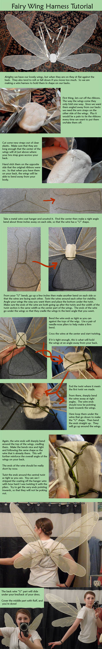 Fairy Wing Wire Harness Tutorial By Naerko On Deviantart