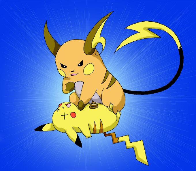 Photo Collection Pokemon Pikachu Raichu Voltorb