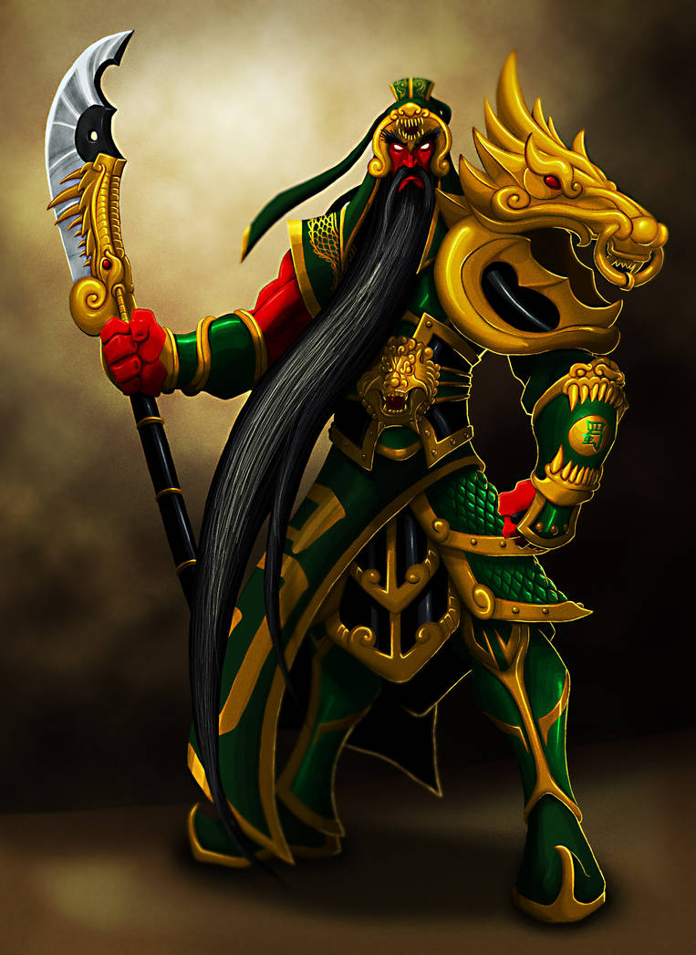 Guan Yu by BlondinFrenchTouch