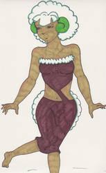 Cottonee Girl