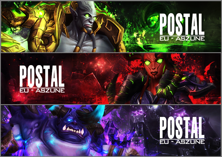 Banner Collection Postal by maybenotquiteasheavy