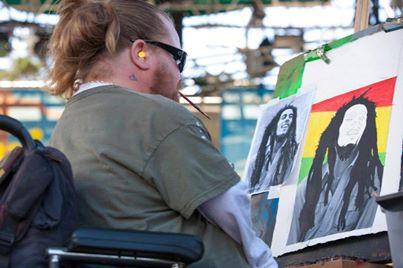 Me painting bob
