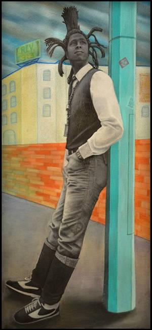 Portrait Of David Hinds