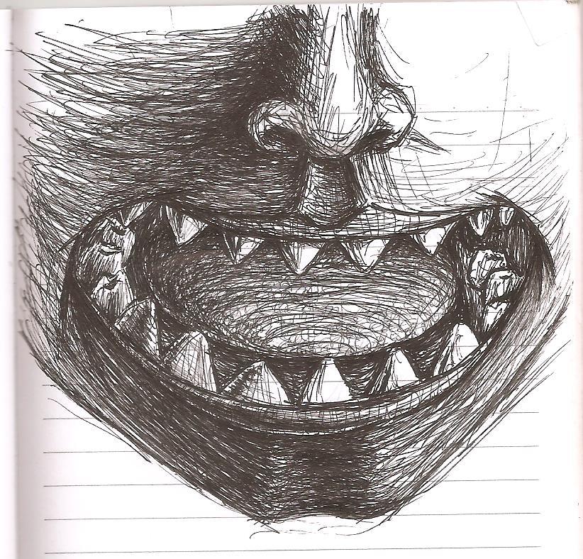Scrap Doodles - Nose/Mouth by ZephyrXenonymous
