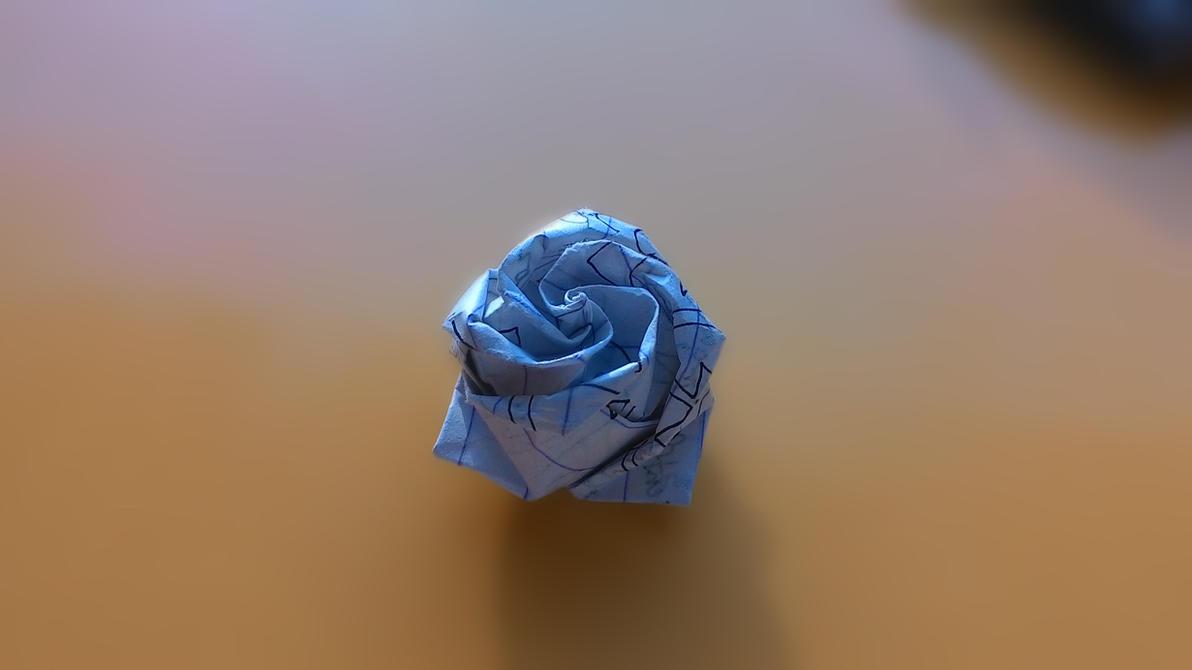 Camera Shots - Origami Jewel Rose by ZephyrXenonymous