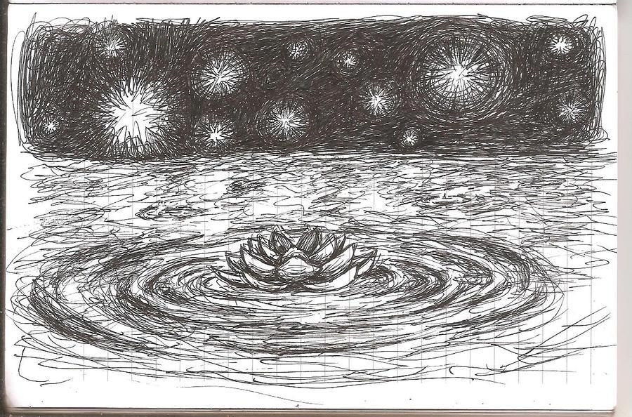 Random Sketch - Starfaring Lotus by ZephyrXenonymous