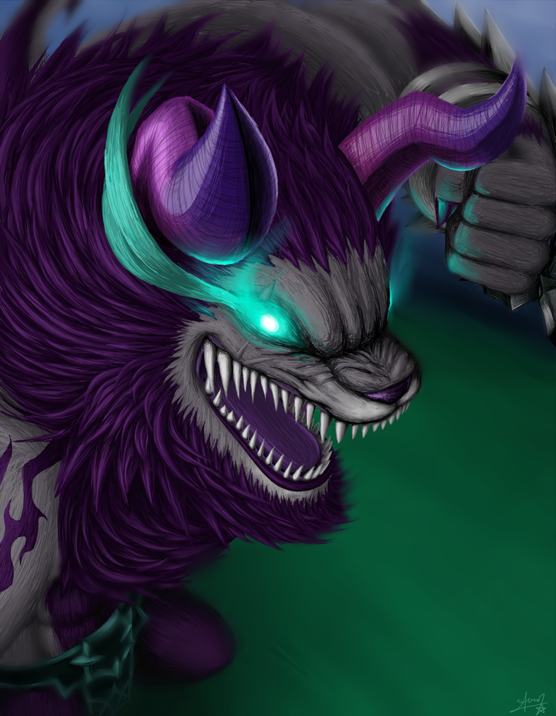 SW - Zeratu, Beast of Shadows by ZephyrXenonymous